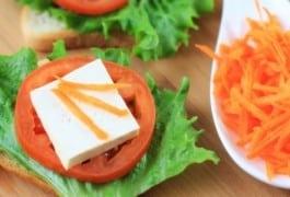 Asparagus Caprese veggiewich