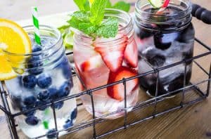 infused water for weight loss