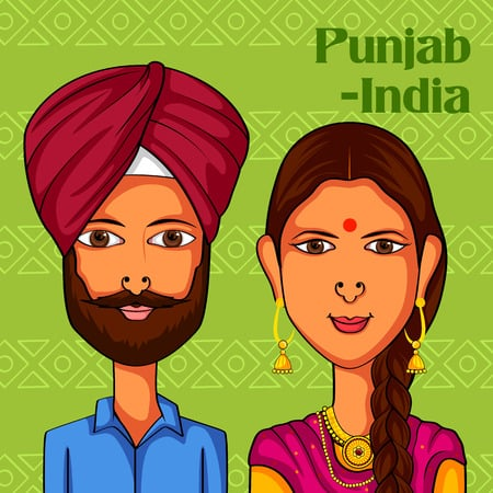 1200 Calorie Punjabi Diet Plan for Weight Loss