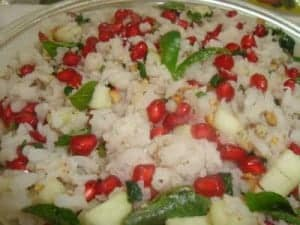 Fruit and Sprout poha