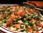 Koshimbir / Kachumber  salad (without curd)