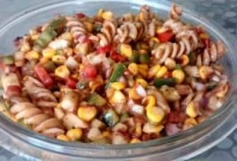 Chatpati Pasta chat / Quick Pasta salad