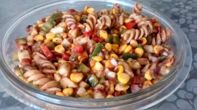 pasta chat pasta salad