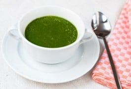 Spinach soup for weight loss (Palak soup)